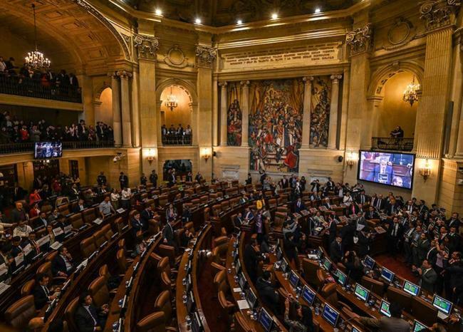 358930_Congreso de la república // Foto: AFP