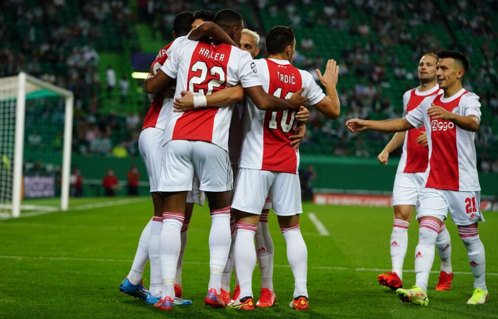 Sporting CP v AFC Ajax: Group C - UEFA Champions League