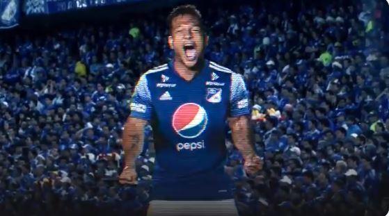 Fredy Guarín. Foto: Millonarios