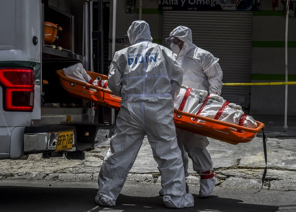 363175_Muertes por COVID-19. Foto: AFP