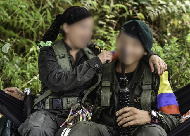 300646_BLU Radio. Niños menores de las Farc / Foto de referencia AFP