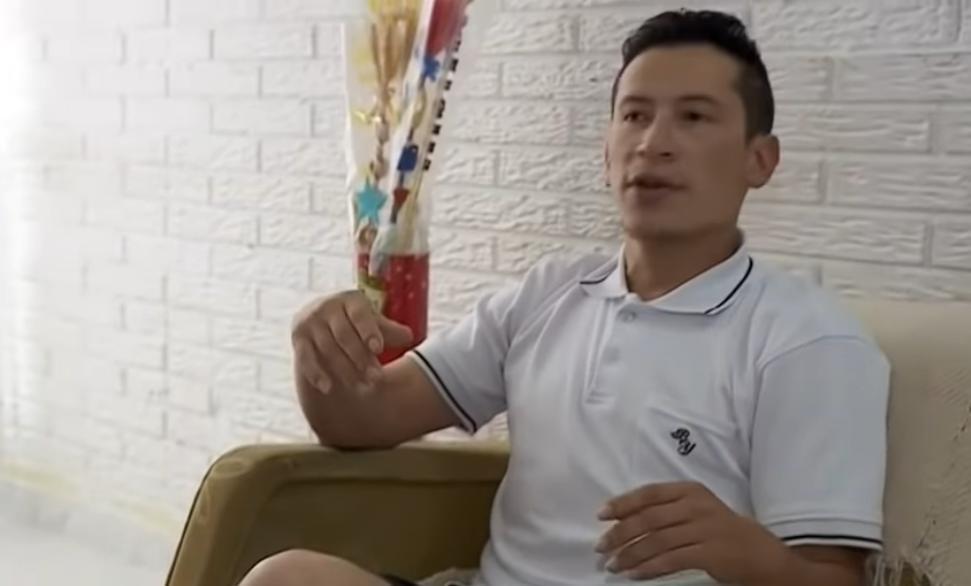 Diego Ariza, taxista que persiguió al delincuente