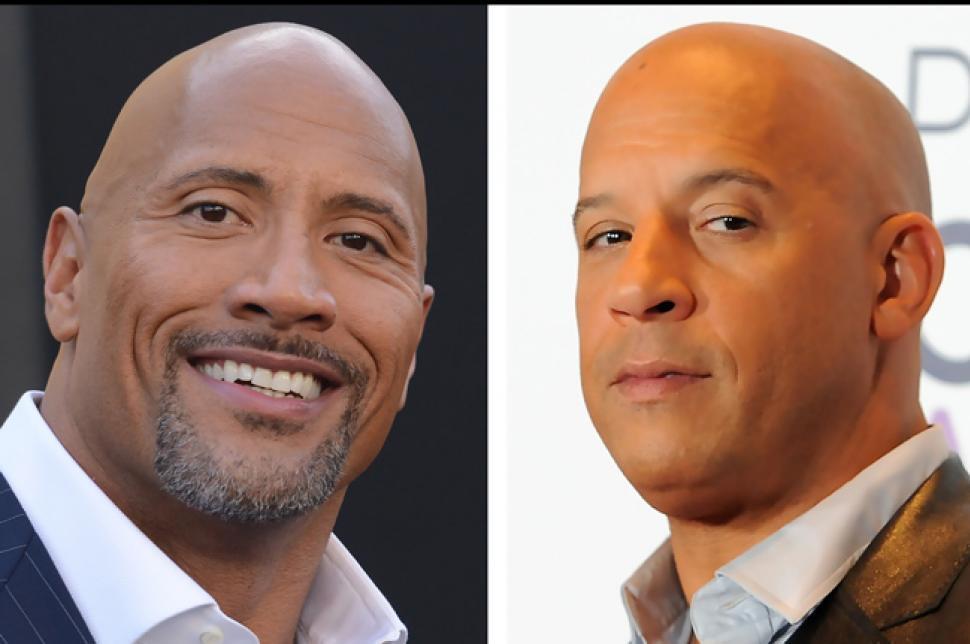 """""""No estuvimos juntos en ninguna escena"""": 'La roca' revela detalles de su pelea con Vin Diesel"""