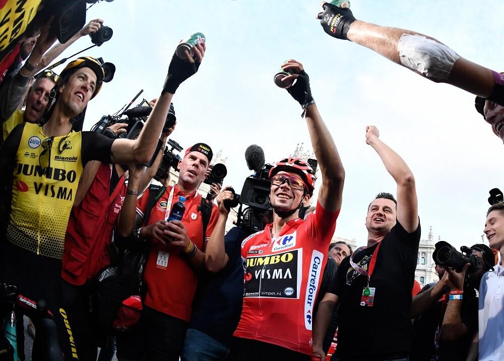 343634_BLU Radio // Primoz Roglic, ganador Vuelta a España // Foto: AFP