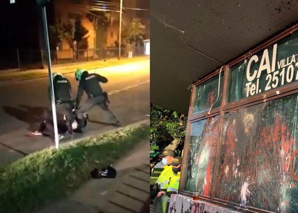 25039_Foto: Video abuso policial / CAI Villa Luz - AFP