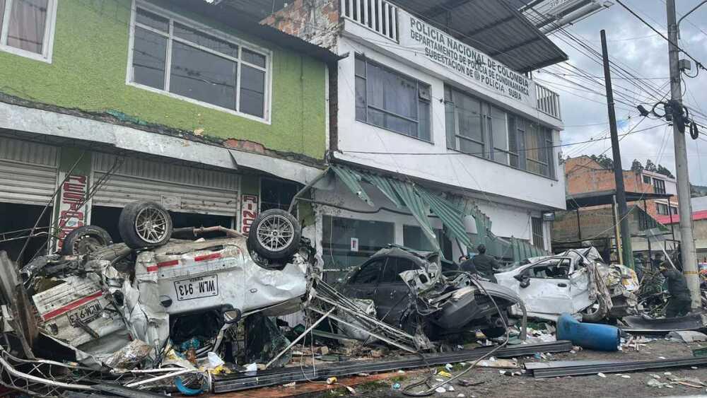 Accidente Bogotá - Girardot