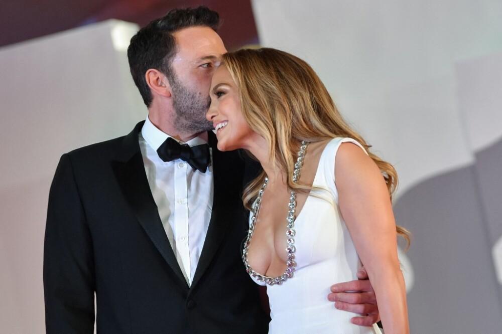 Ben Affleck y Jennifer Lopez//