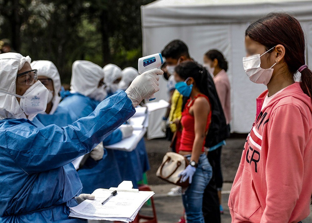 359861_Pruebas coronavirus / Foto: AFP