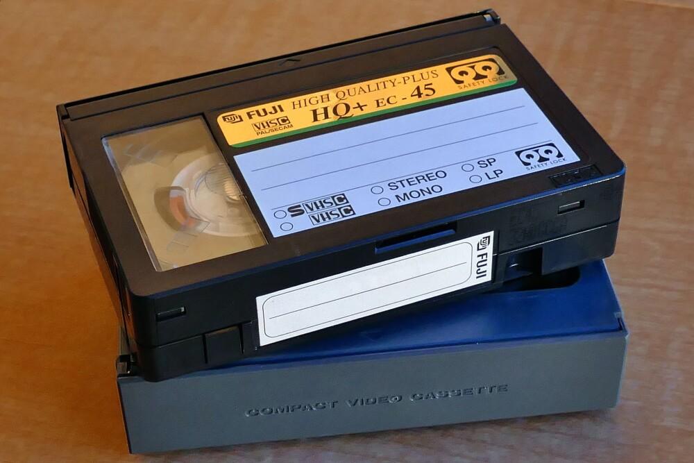 Cinta de VHS