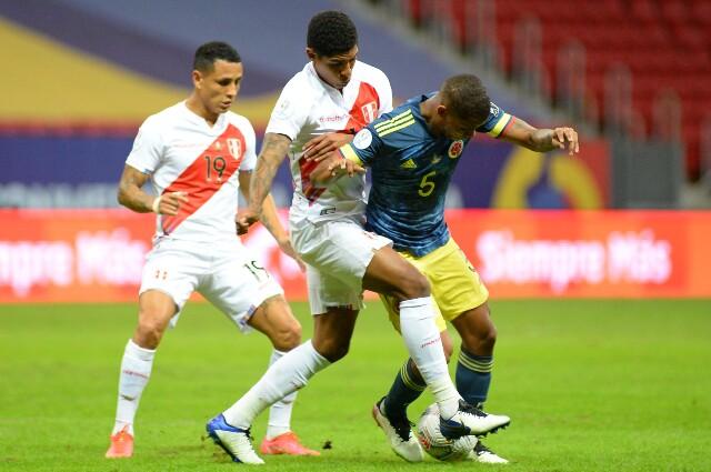 Wilmar Barrios, en la Selección Colombia
