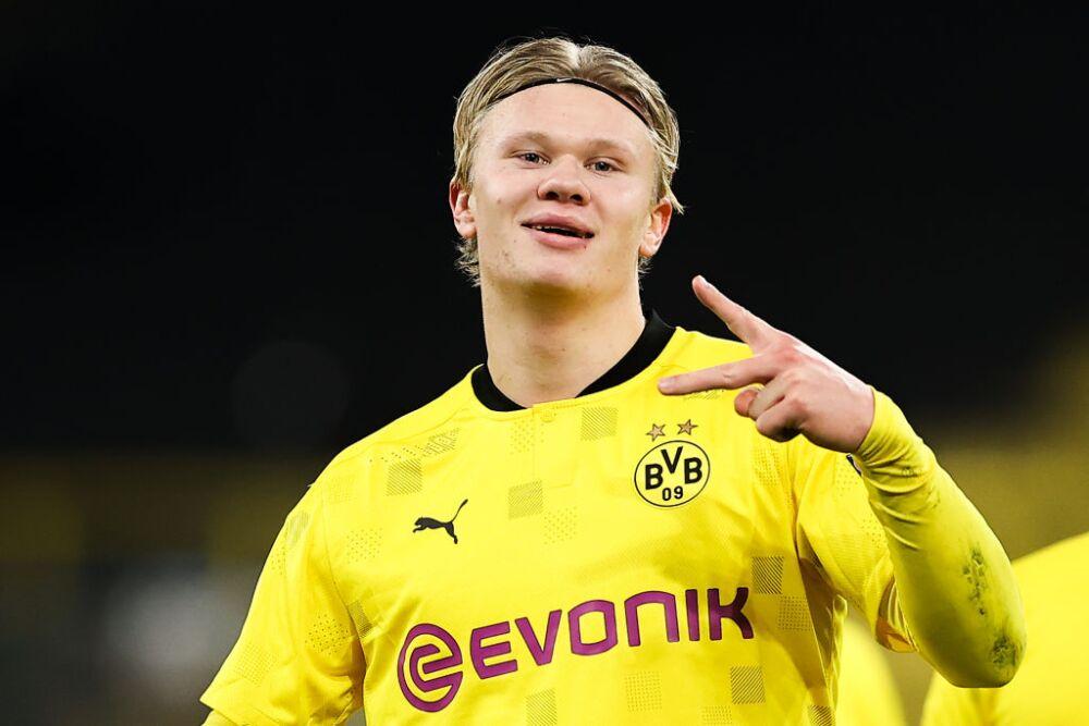 Erling Haaland, jugador de Borussia Dortmund