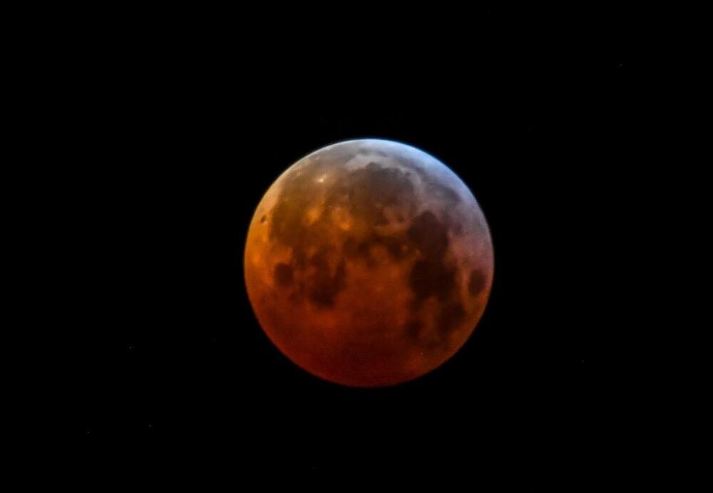 Eclipse 'luna de sangre' de 2019