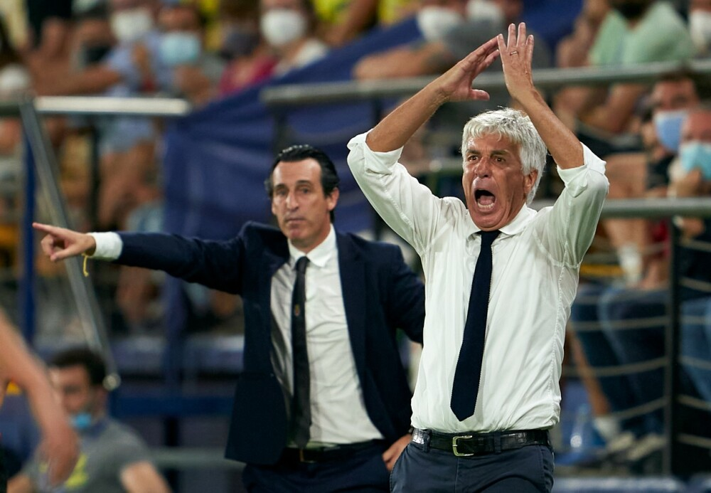 Gian Piero Gasperini, entrenador del Atalanta