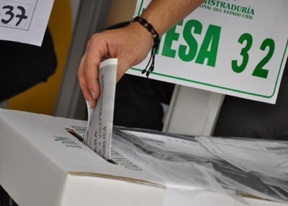 Votación/Foto: Suministrada