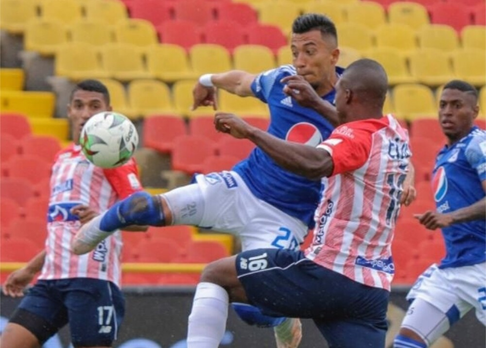 Millonarios vs Junior Foto Twitter MillosFCoficial.jpg