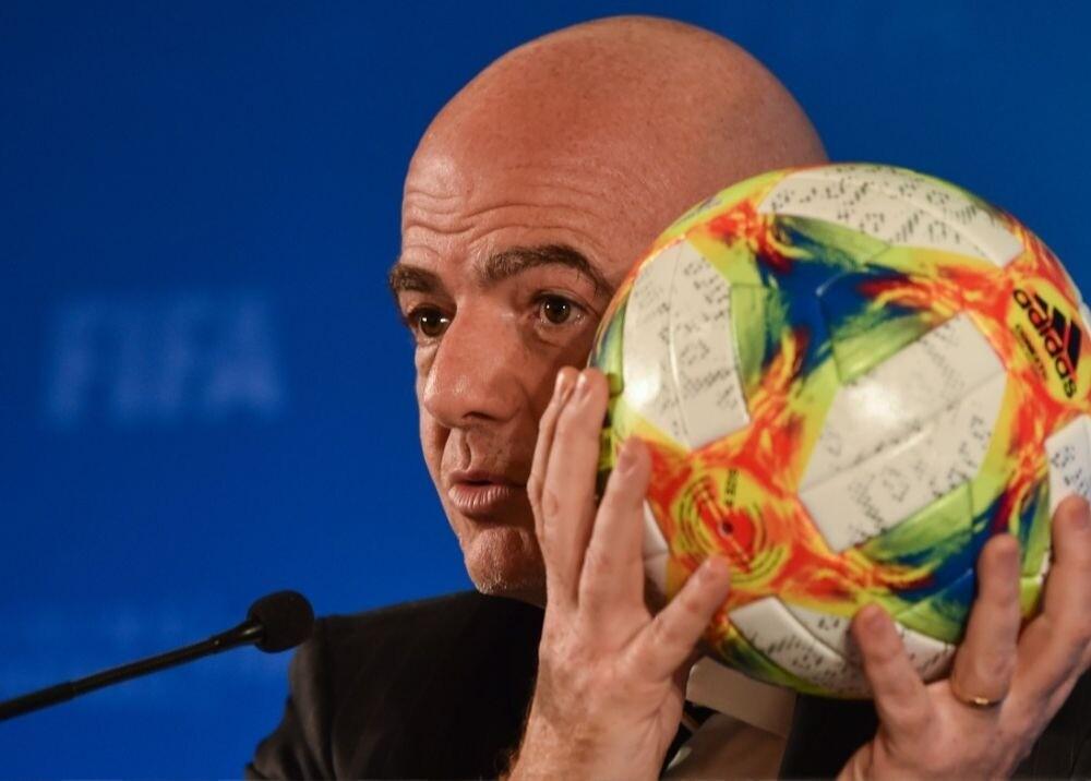 372716_Gianni Infantino / AFP