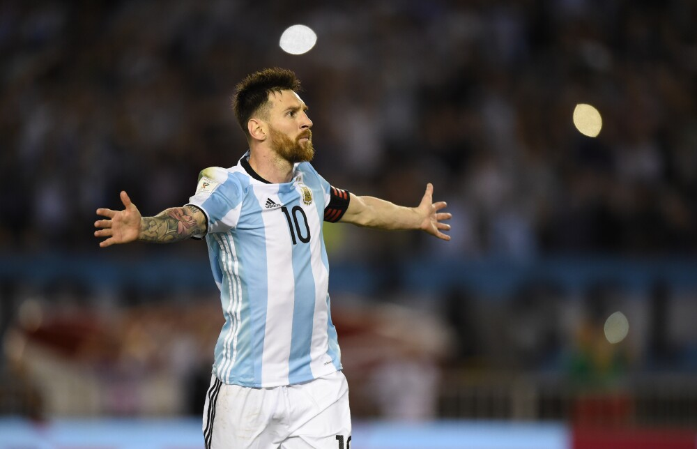 Lionel Messi figura de Argentina