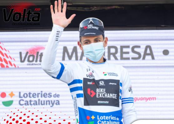 Esteban Chaves es líder de la montaña y los puntos en la Vuelta a Cataluña.