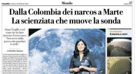 portada periodico la republica Diana Trujillo .jpg