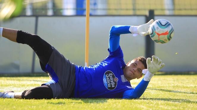 Luis Garcia, jugador de Deportivo La Coruña