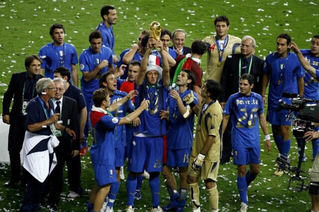 332966_Selección Italia, campeona del mundo 2006