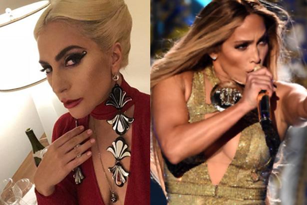J Lo y Gaga