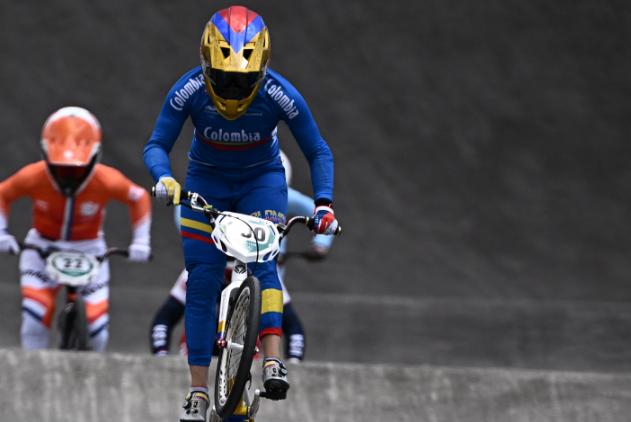 Mariana Pajón clasificó a la semifinal del BMX de los Juegos Olímpicos de Tokio 2020.