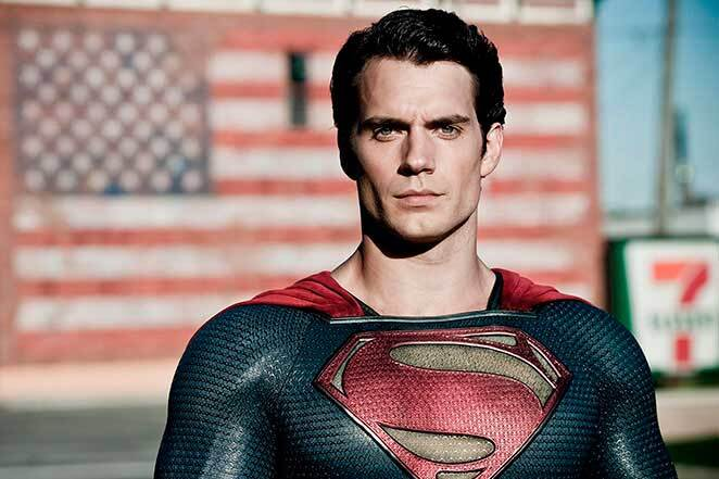 Man of Steel - Henry Cavill.