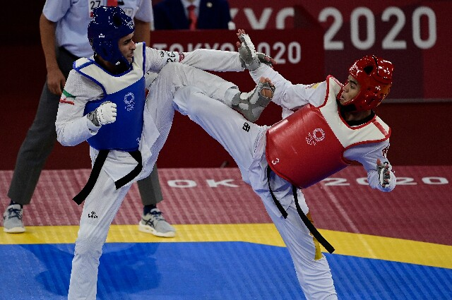 Jefferson Ochoa, en los Juegos Olímpicos de Tokio