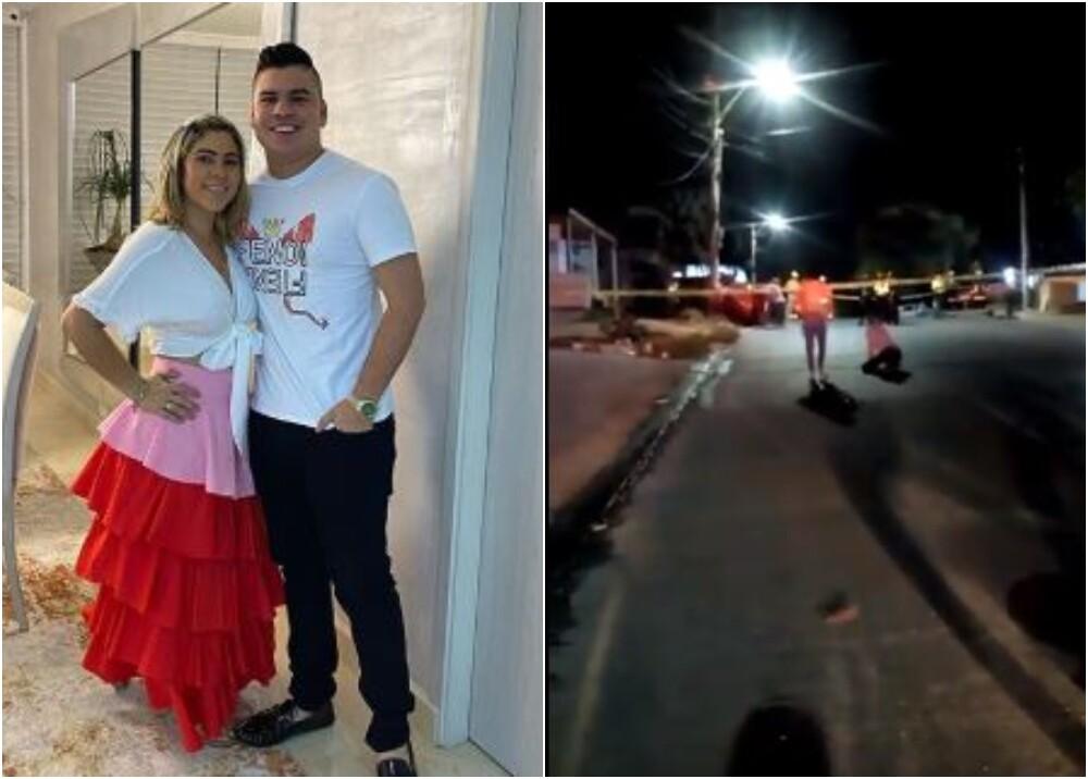 22223_Mamá de Moisés Díaz llega al lugar de su muerte / Foto: Instagram - captura video