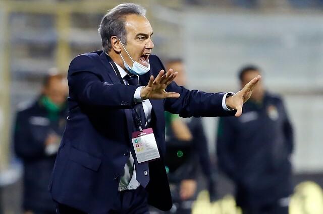 Martín Lasarte, técnico de la selección de Chile