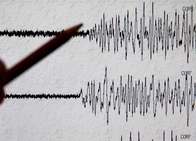 Sismógrafo - Temblor - Sismo - Terremoto. Foto AFP