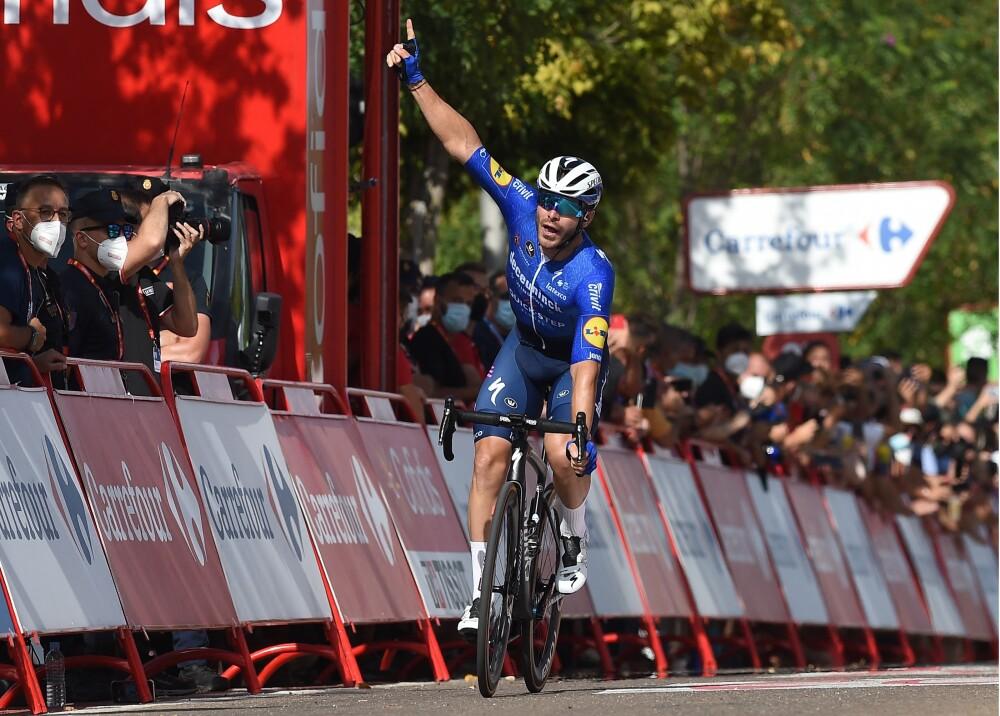 Florian Senechal ganador etapa 13ª  Vuelta a España