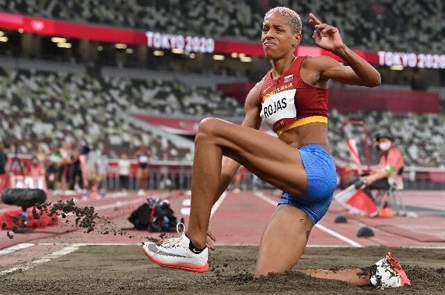 Yulimar Rojas, en los Juegos Olímpicos de Tokio 2020