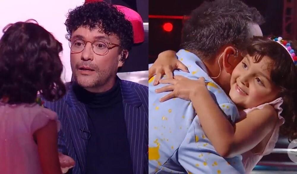 Agatha, la participante más pequeña que se ha presentado en La Voz Kids Colombia.