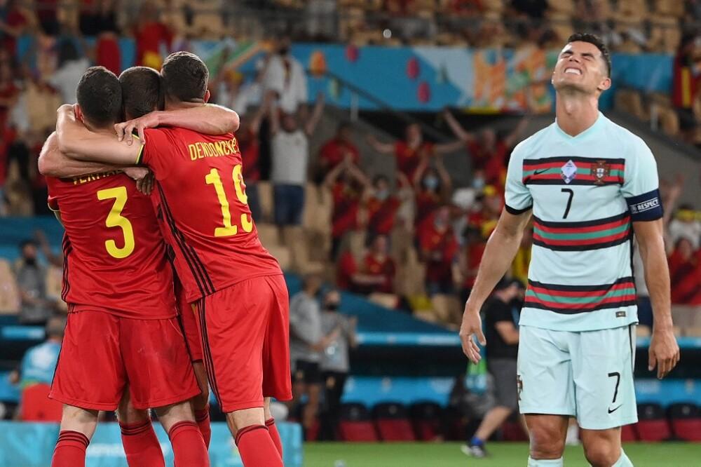 Cristiano Ronaldo, eliminado de la Eurocopa