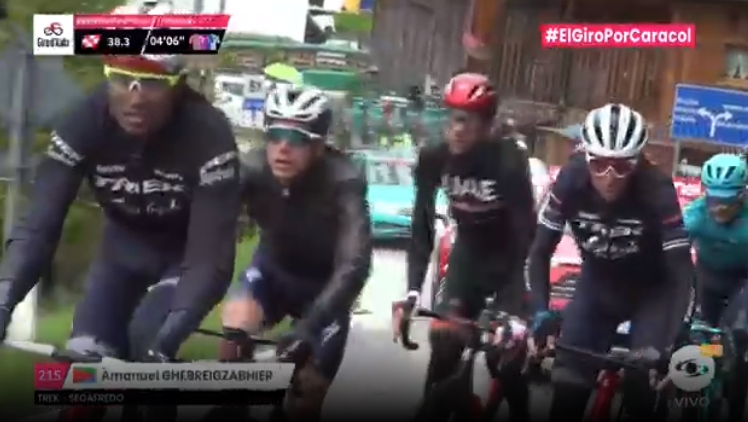 Esprint bonificado etapa 16 Giro de Italia