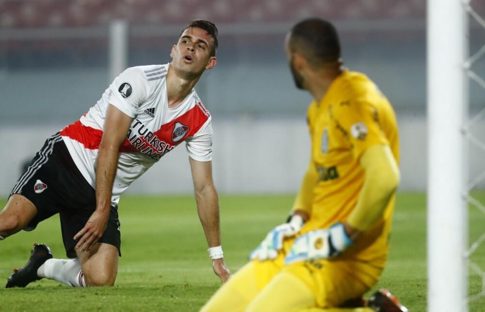 Rafael Santos Borré, River vs Palmeiras
