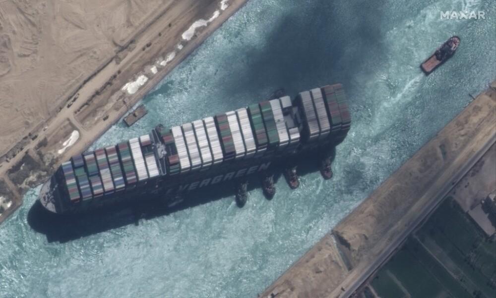 Desbloqueo del Canal del Suez
