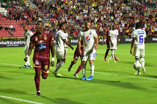 322701_Tolima vs Millonarios