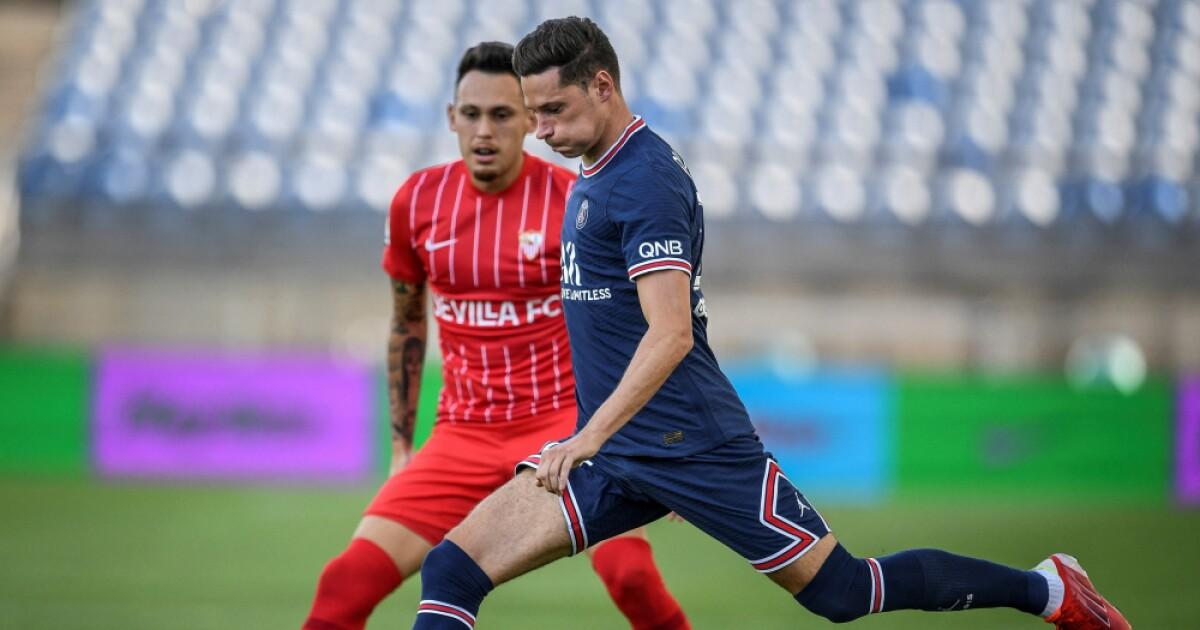 PSG igualó 2-2 ante Sevilla en amistoso de pretemporada