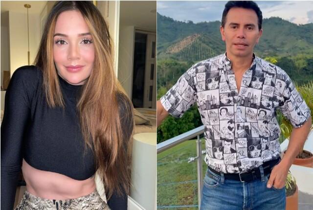 Indirecta de Lina Tejeiro a Jhonny Rivera.