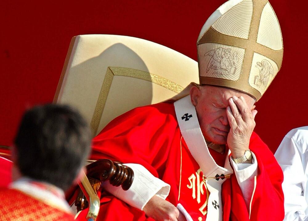 Papa Juan Pablo II :: Foto: archivo AFP.jpeg