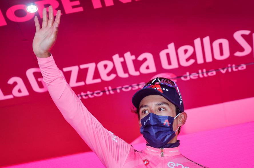 Egan Bernal es el líder del Giro de Italia 2021.
