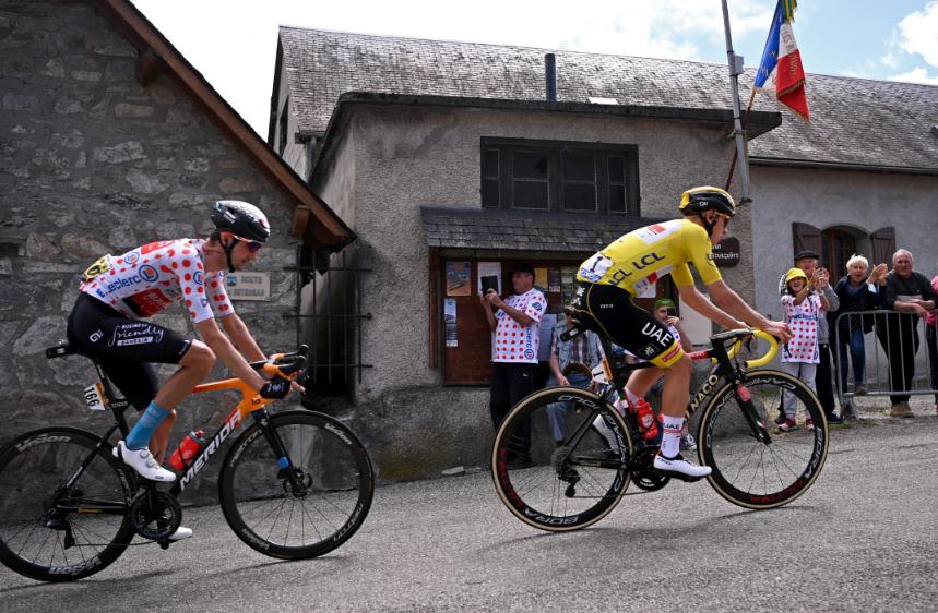 Wout Poels es el líder de la montaña del Tour de Francia.