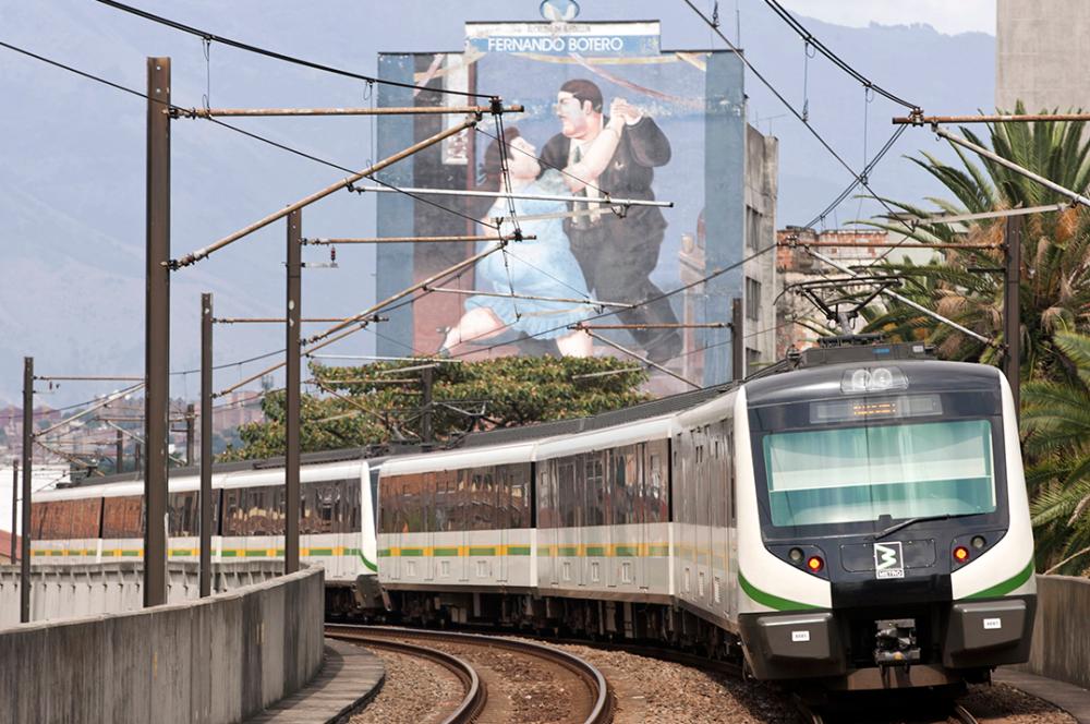 275569_Metro de Medellín / Foto: AFP
