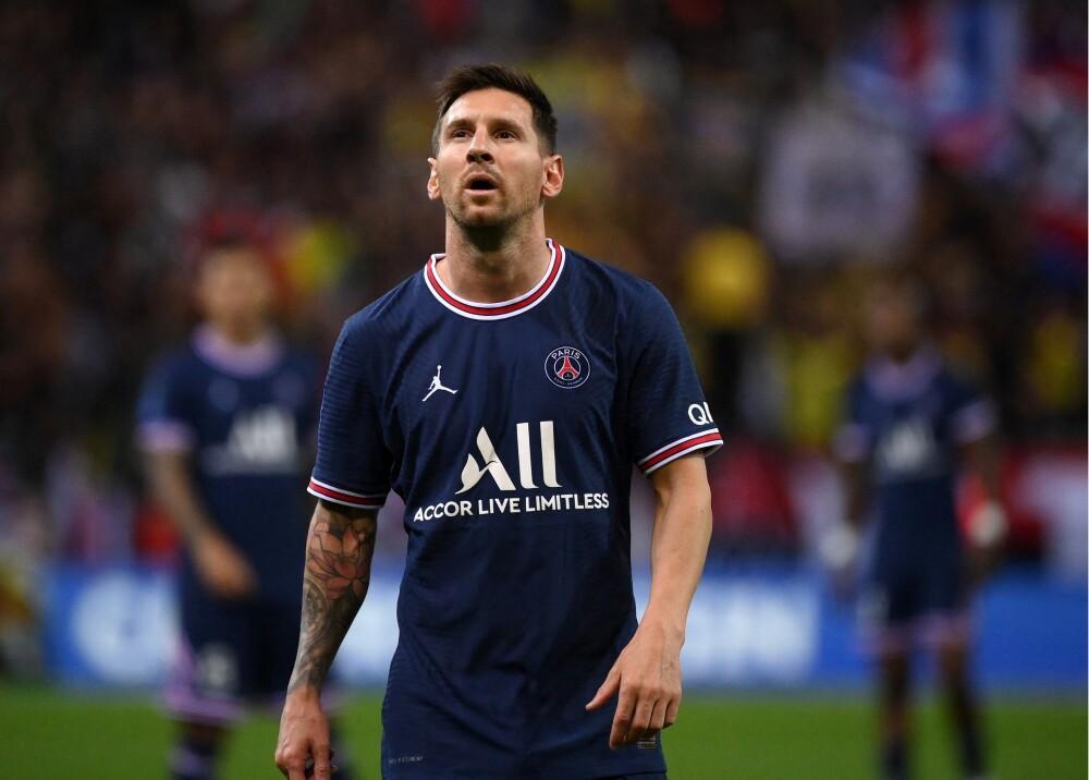 Lionel Messi debutó con el PSG Foto AFP.jpg