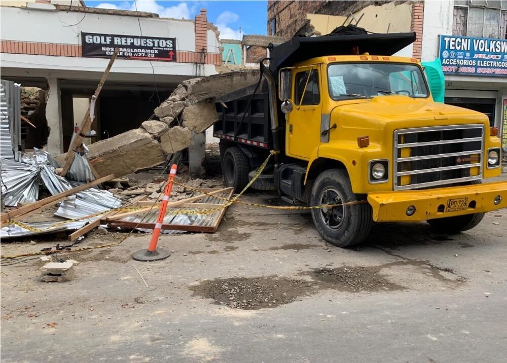 371314_Explosión de gas en Bogotá // Foto: BLU Radio