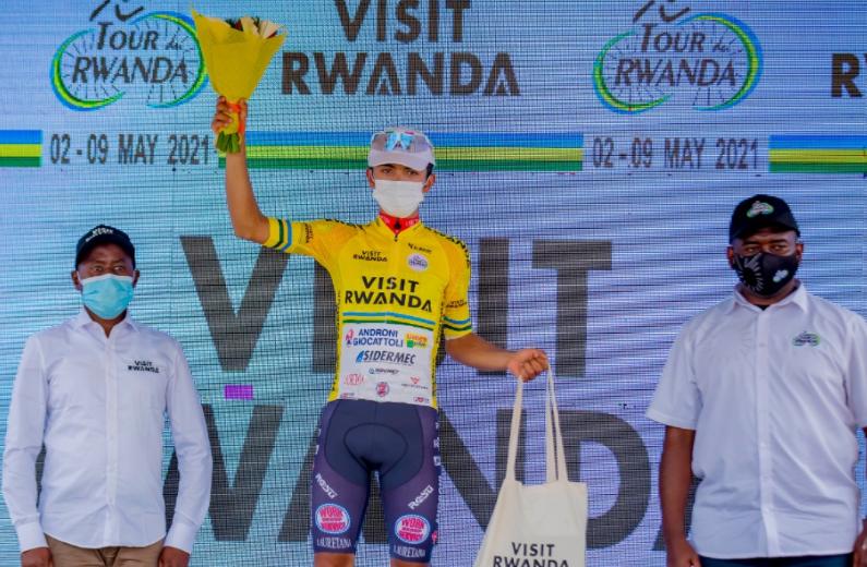 Santiago Umba es el líder del Tour de Ruanda tras la etapa 2.