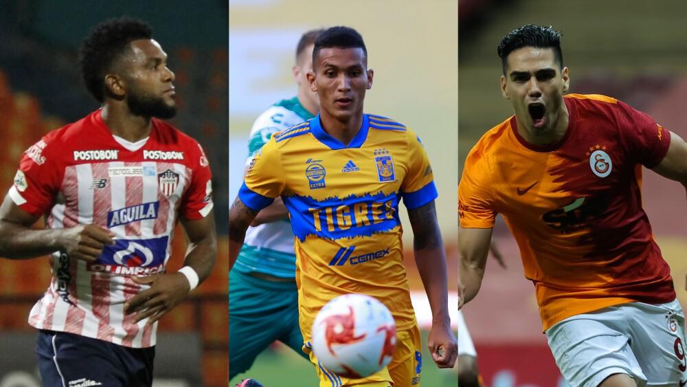 Fichajes de los jugadores colombianos